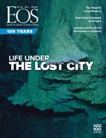April 2019 Eos magazine cover