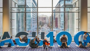 scientists—and their families—gathered in Washington, D.C., for AGU's Fall Meeting 2018