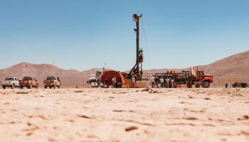 Deep drilling in the Atacama Desert in 2017