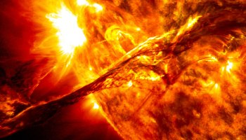 Image of a solar prominence