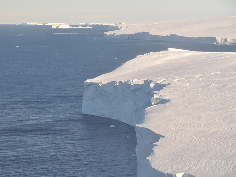 Thwaites glaciar