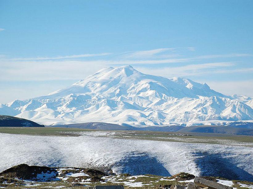 Image of Mount Elbrus in Russia