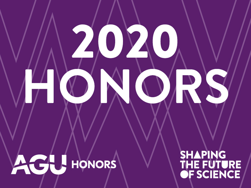 2020 AGU Honors: Shaping the Future of Science