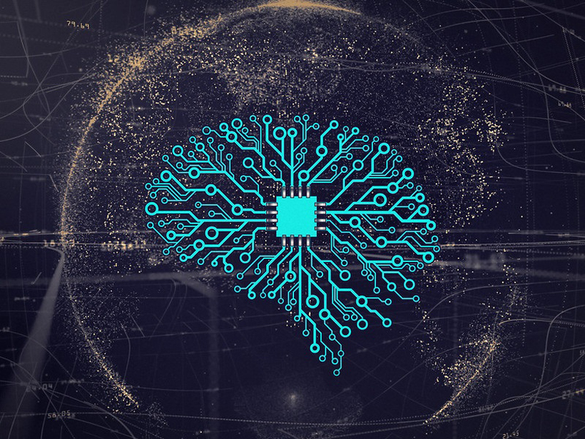Artistic impression of artificial intelligence
