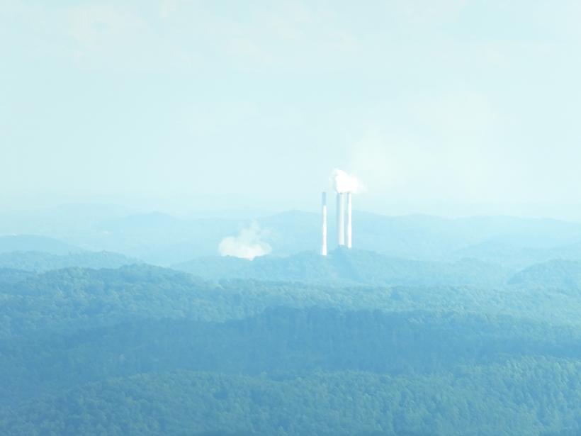 A power planet in the U.S. Appalachian basin in August 2016