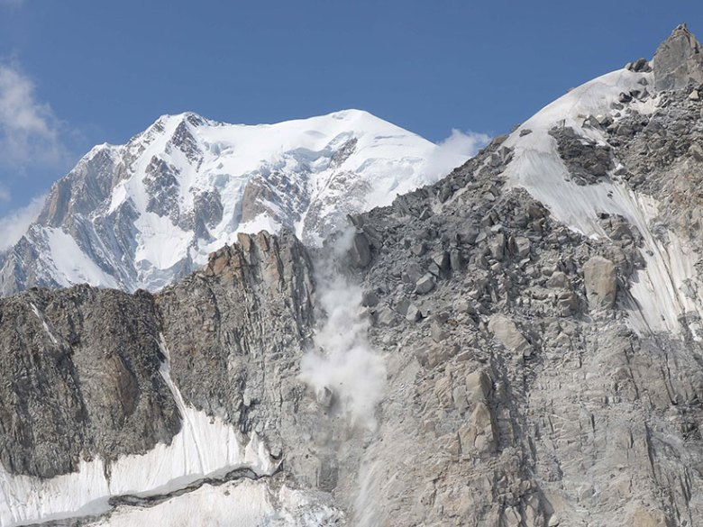 The Tour Ronde rockfall occurred in Chamonix, France, on 13 August 2015