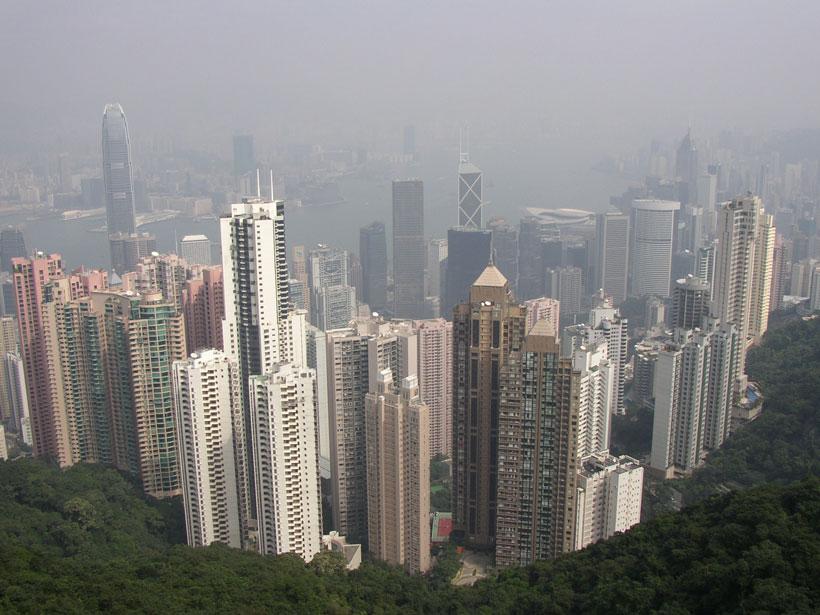 Hong Kong and Victoria Harbor