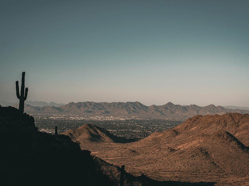 A view from Phoenix's Piestewa Peak