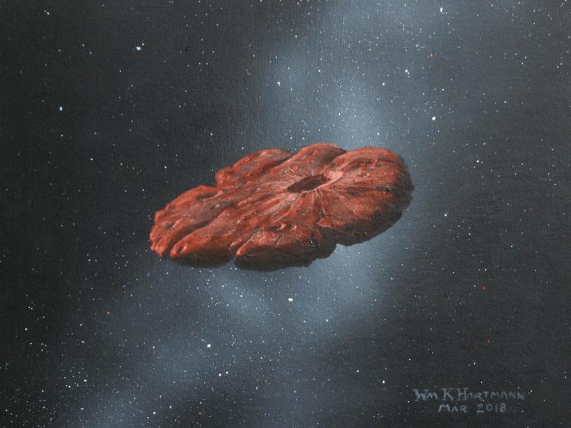 'Oumuamua已经在星际空间中游荡了数百万年