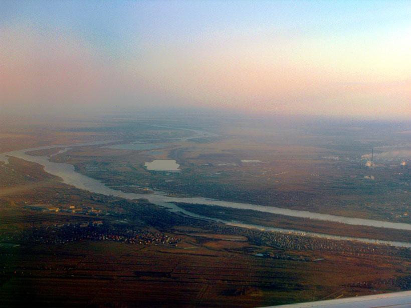 流经西伯利亚的额尔齐斯河