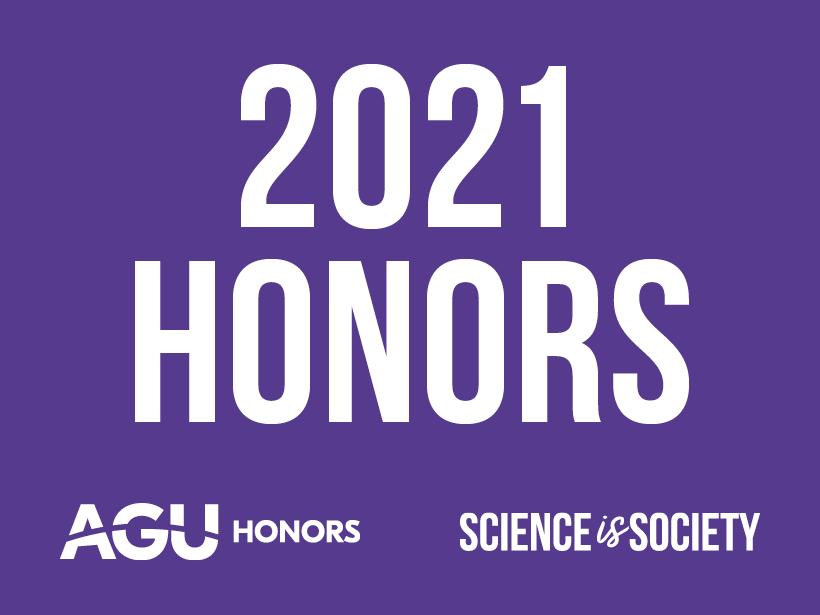 2021 Honors AGU