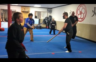 8v1 Kenjutsu fight. How many opponents can Dusty kill in 3 minutes?