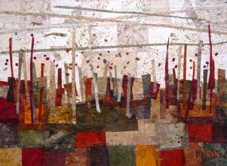 """landscape 2""  by Lori Krein, copyright 2009"