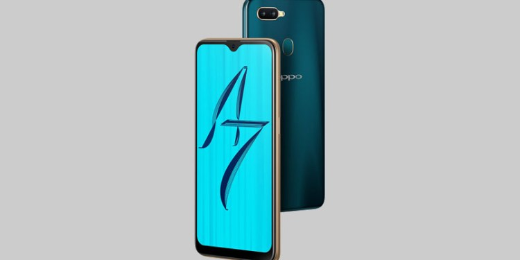 OPPO A7 India
