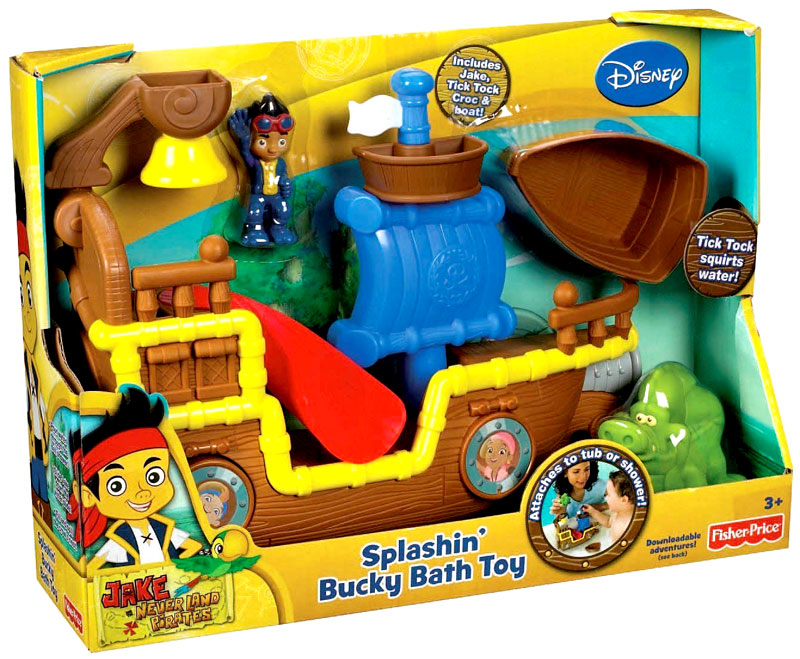 Jake And Neverland Pirates Bath Toys