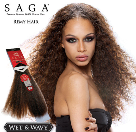 saga remy hair wet and wavy best clip in hair extensions