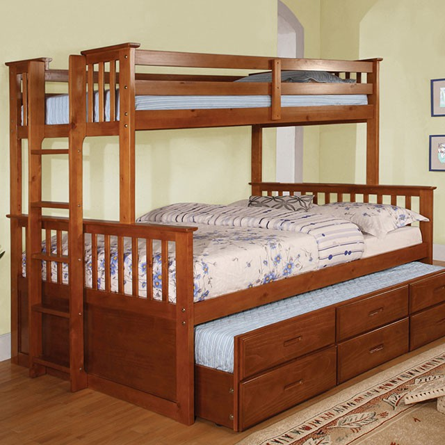 Children Bedroom Set Bunk Bed CM BK458Q Twin XLQueen