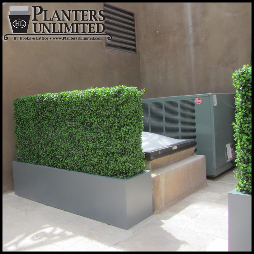 Boxwood Outdoor Artificial Hedge 48inL X 12inW