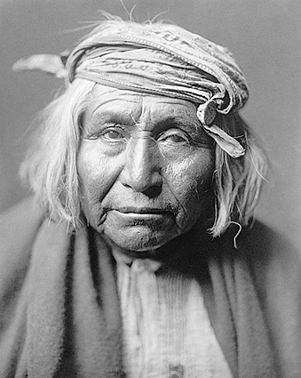 Apache Indian Edward S Curtis Portrait Photo Print For Sale