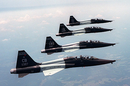 T 38 Talon Formation Photo Print For Sale