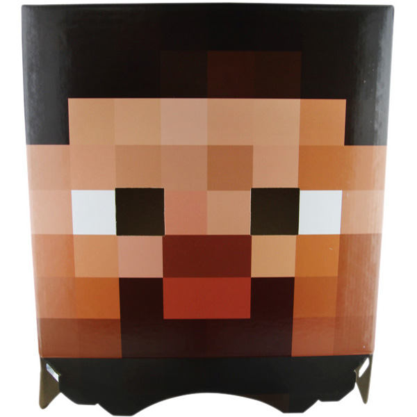 image about Minecraft Steve Head Printable named Printable Reserve Critique Template. paragraph crafting template