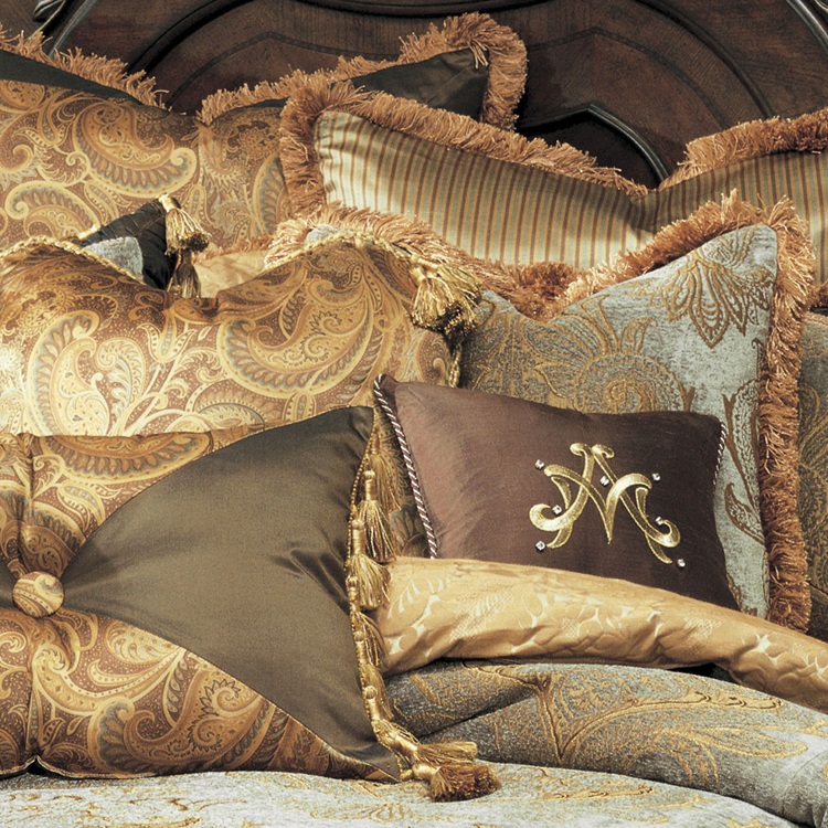 Elizabeth Luxury Bedding By Michael Amini Bedding Collection From AICO Luxury Bedding