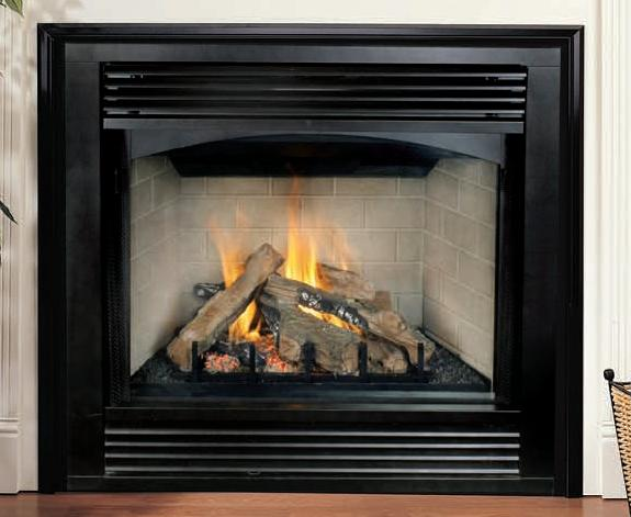 Have Direct Vent Fireplace Logs