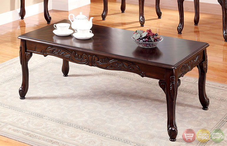 Cheshire Traditional Cherry Accent Tables With French