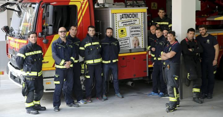 Los bomberos carecen de botiquín para salvar vidas | Madrid | EL PAÍS