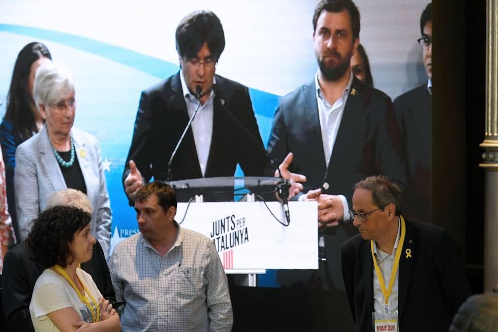 Tornarà Puigdemont a Espanya a recollir l'acta d'eurodiputat?