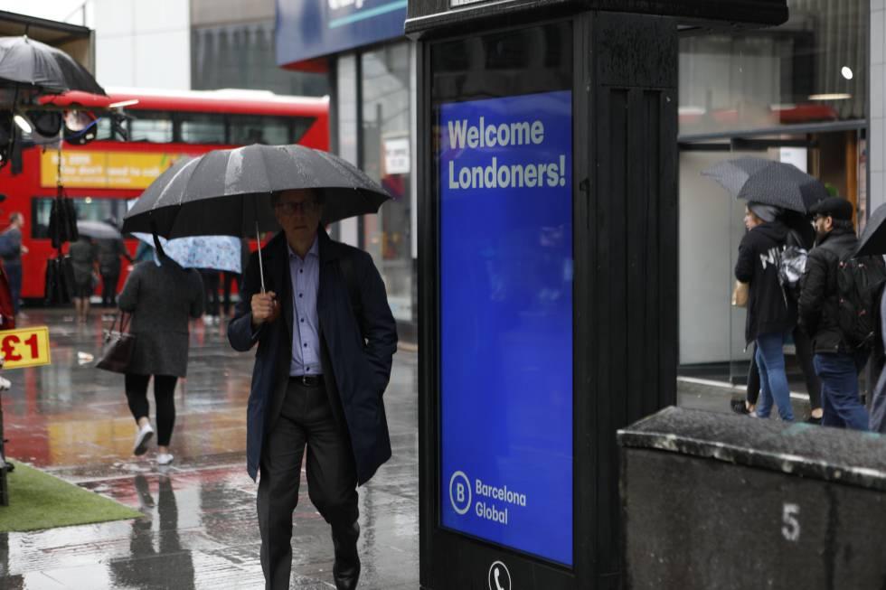 Barcelona rep una pluja de floretes a Londres