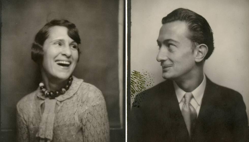 Les vides paral·leles de Dalí i Gala, en imatges