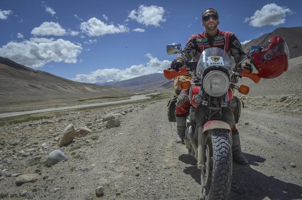 El motociclista català arriba a Persèpolis