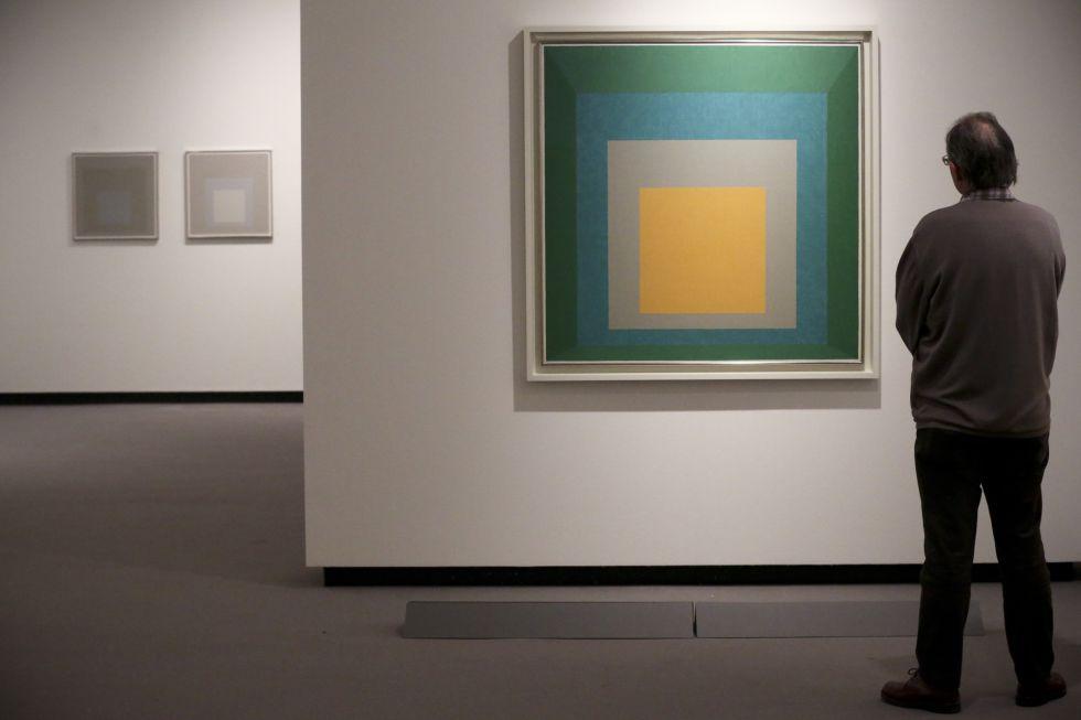 Exposición de Josef Albers en la Fundación Juan March