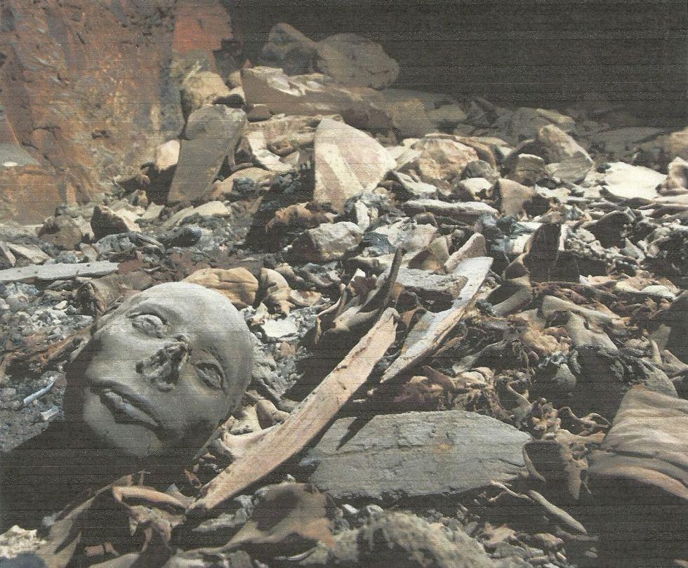 Una imagen de la tumba descubierta en el valle de los Reyes en Luxor (Egipto)