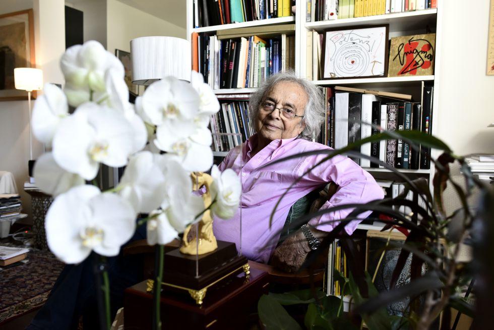 El poeta sirio Adonis