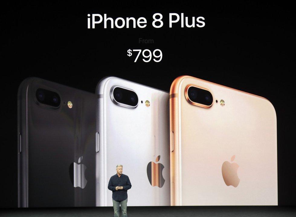 iPhone Plus costara a partir 799 dólares.
