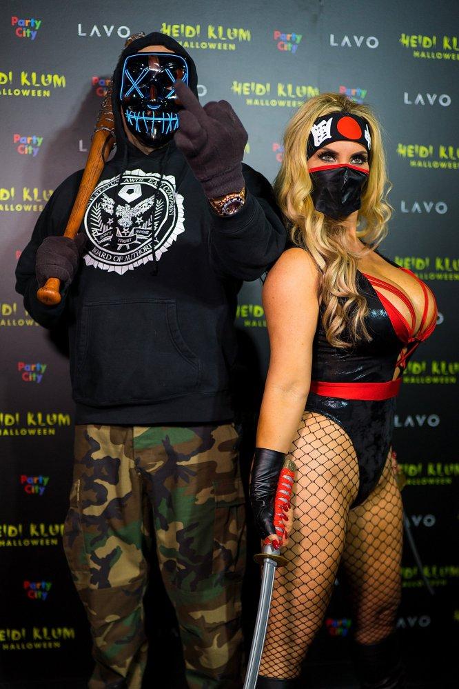 """El rapero Ice T y la actriz Nicole """"Coco"""" Austin."""