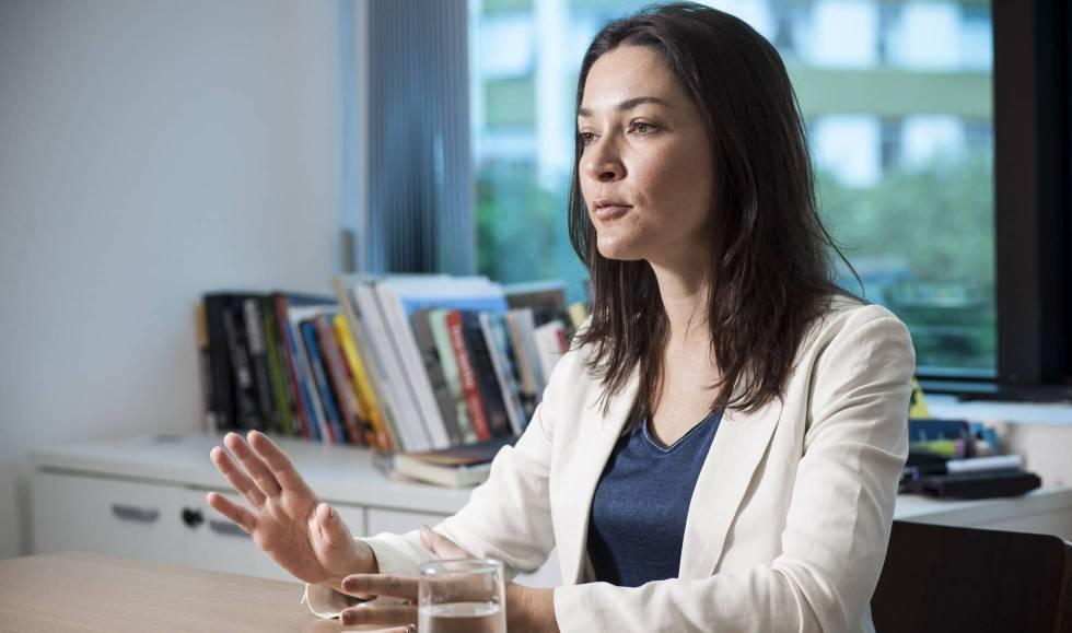 Ilona Szabó, durante a entrevista em São Paulo.