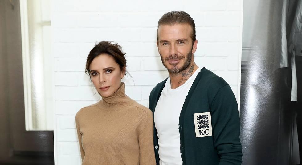Victoria e David Beckham.