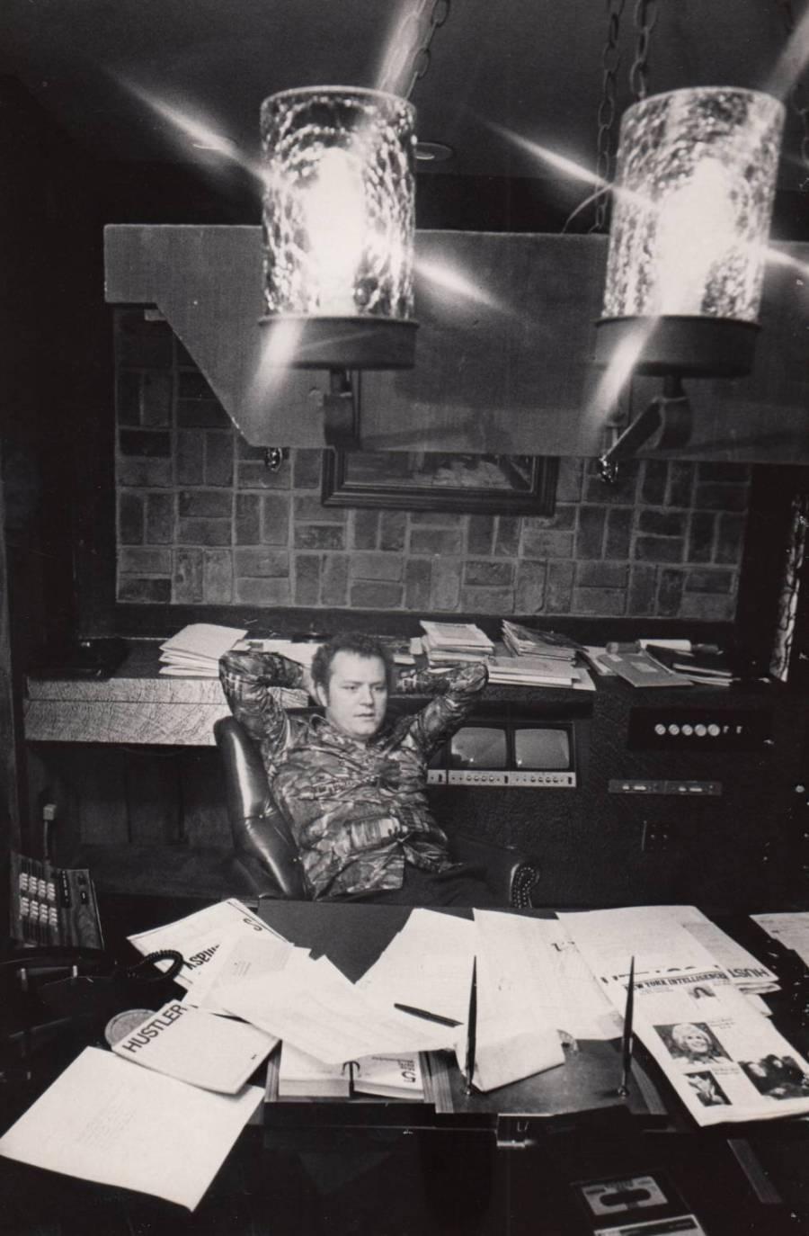 Larry Flynt em meados dos anos setenta