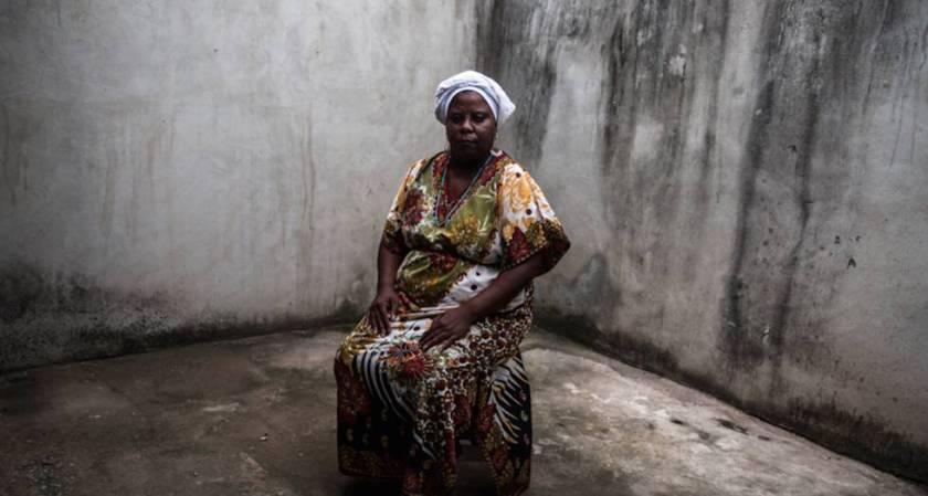 Mãe Vivian mudou o terreiro para uma casa mais isolada em Sepetiba.