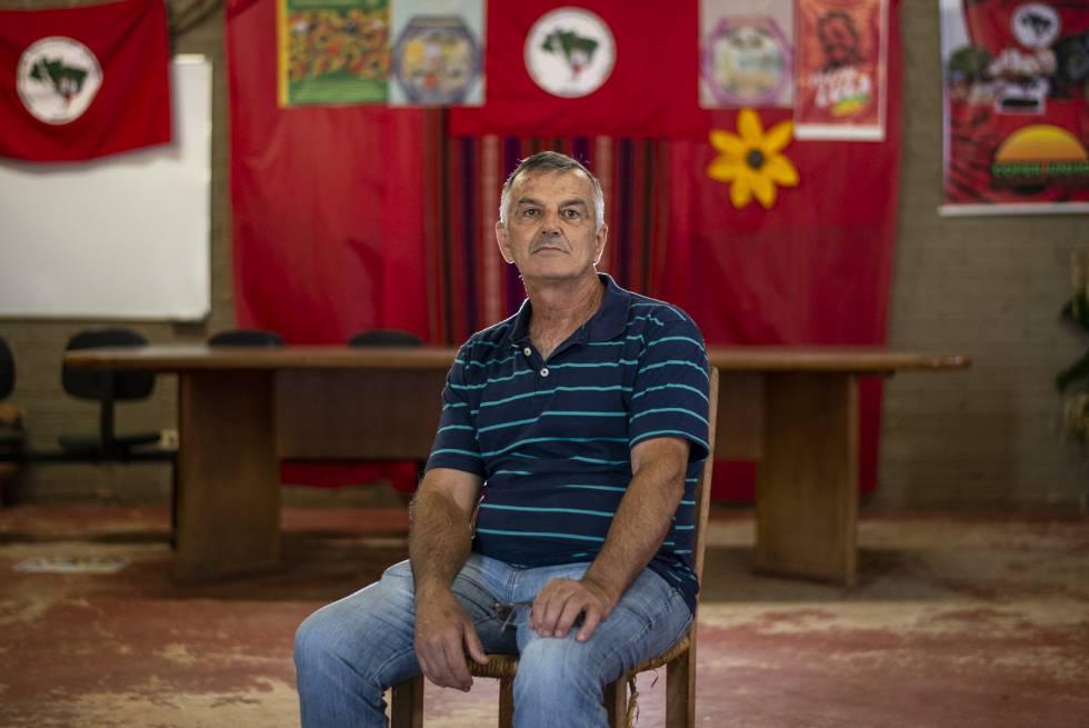 Sadi Gomes Amorim, agricultor do Assentamento 8 de Junho.
