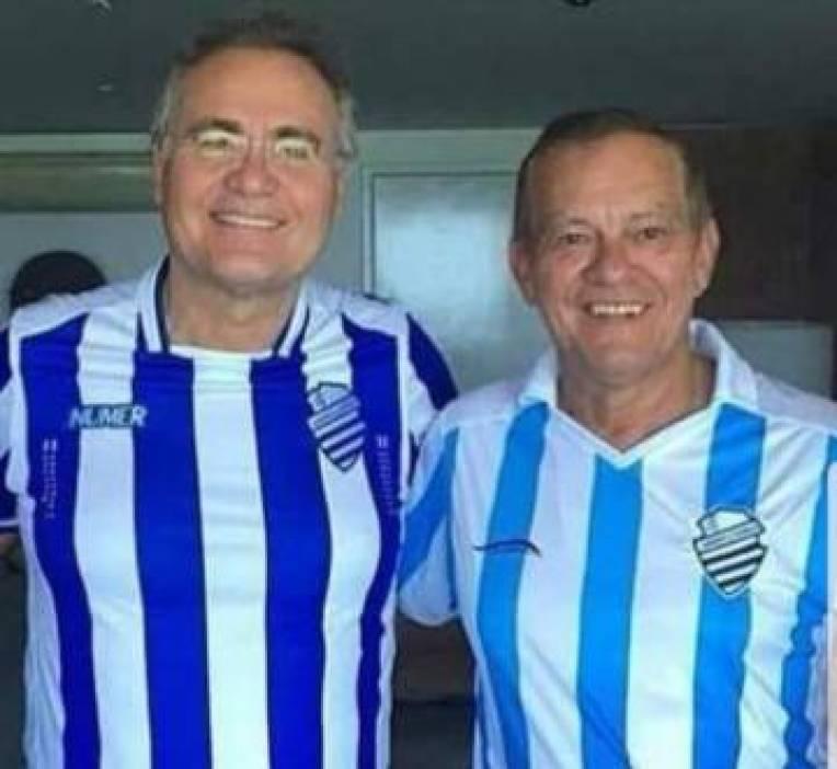 Renan Calheiros e Rafael Tenório.
