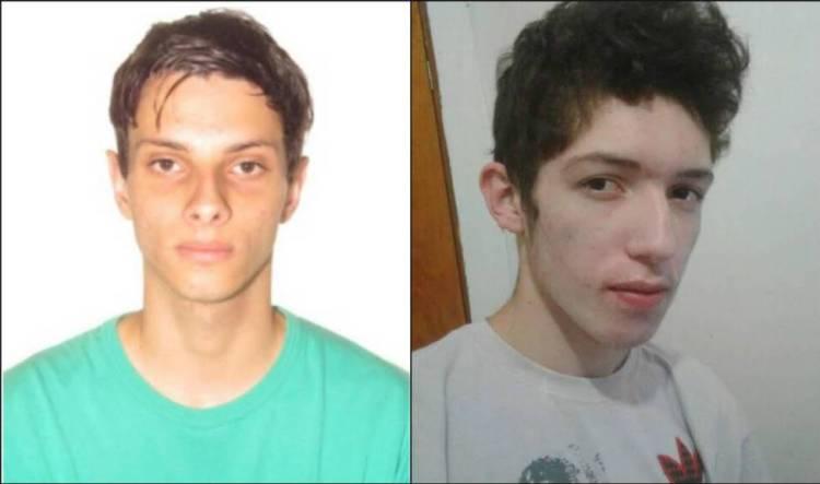 Os atiradores Luiz Henrique de Castro, 25 anos (à esquerda) e Guilherme Taucci Monteiro, 17.