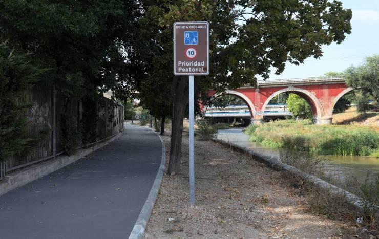 El Manzanares se expande para peatones y ciclistas