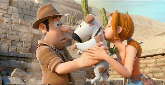 Imagen de le película 'Las aventuras de Tadeo Jones'.