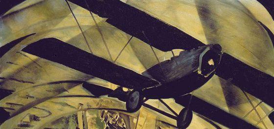 Tato (Guglielmo Sansoni), 'Volar sobre el Coliseo en espiral', 1930.