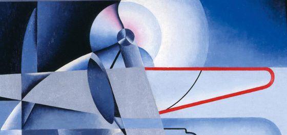 Osvaldo Peruzzi, 'Aeropittura', hacia 1934.