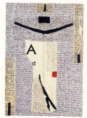 Collage realizado por Adonis en 1993